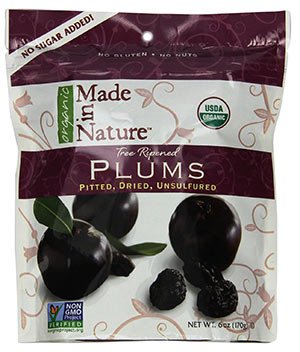Organic Prunes by Made In Nature