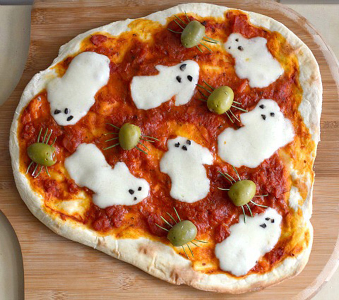 Health Friendly Ghost-Pizza1