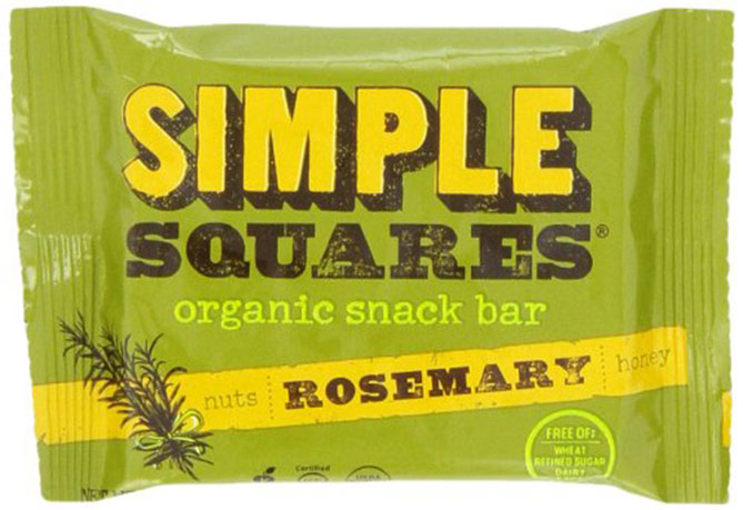 Rosemary honey and nut bar by Simple Squares1