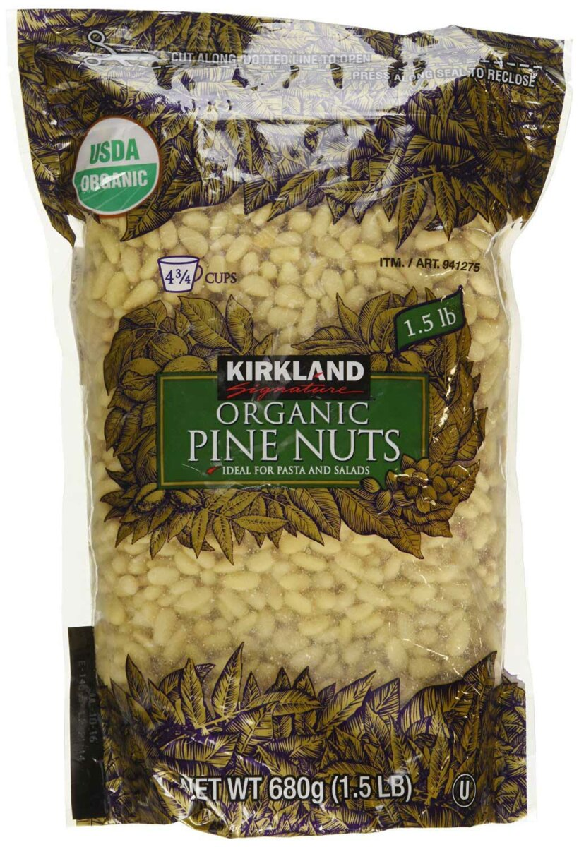 Organic Pine Nuts by Kirkland Signature