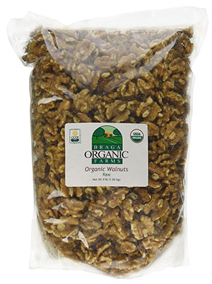 Organic Raw Walnuts by Braga Organic Farms