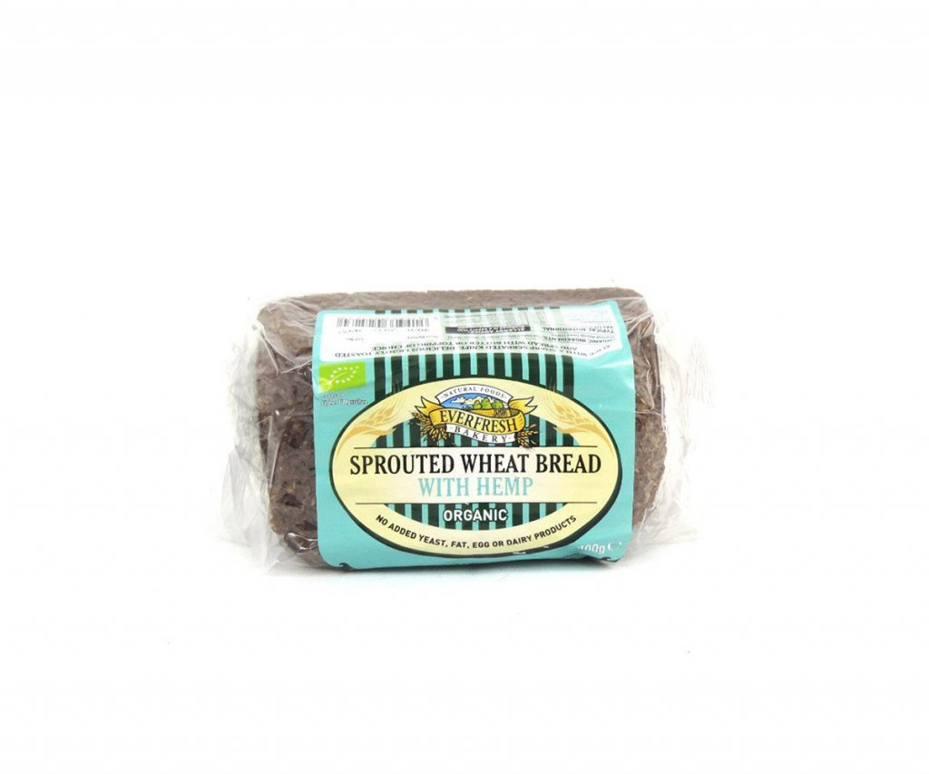 Organic Wheat Hemp Bread by Everfresh