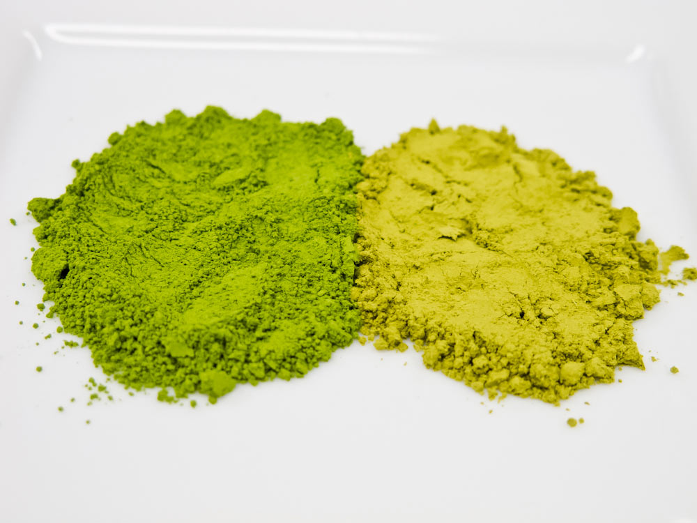 The Color Hints At Matcha's Quality1