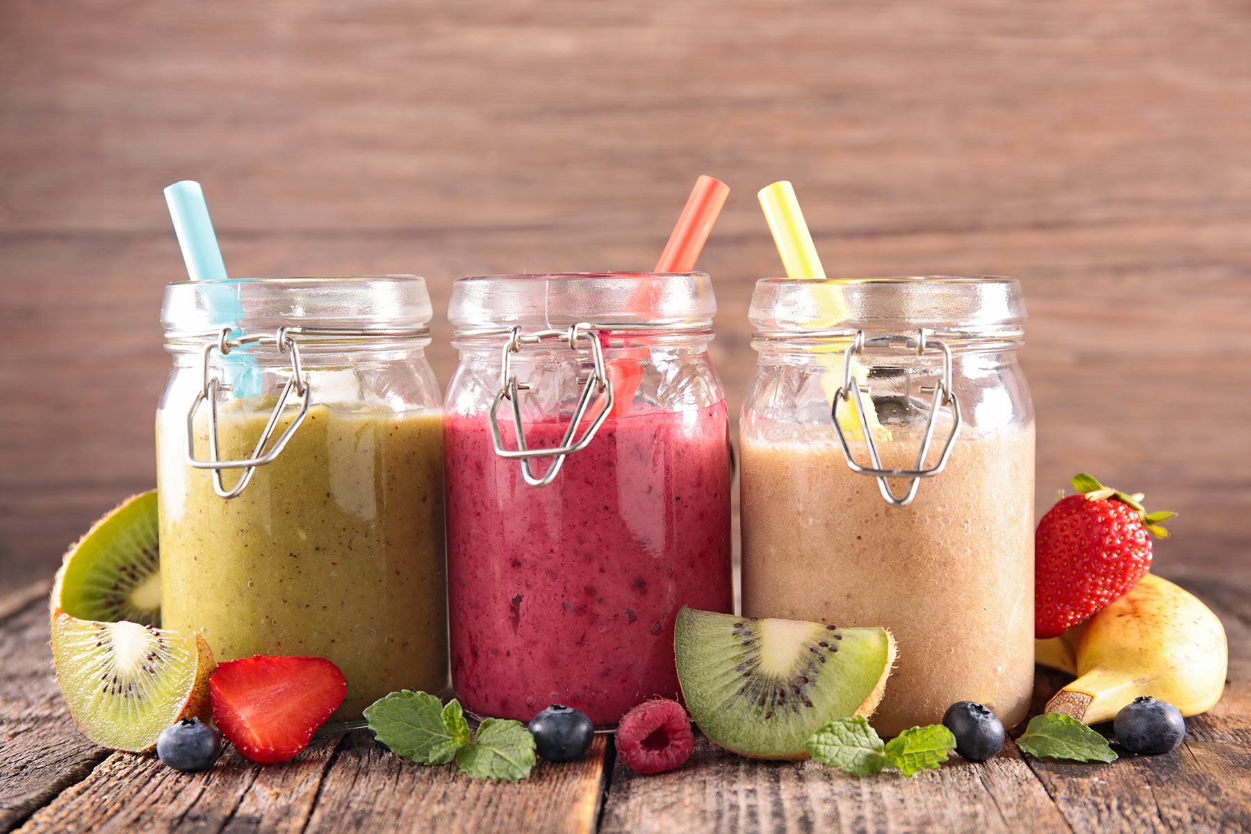 healthy fruit smoothies with spinach what fruit has protein