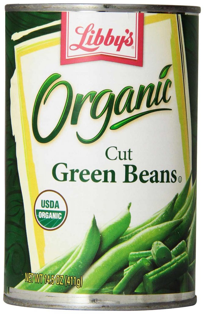 Canned Organic Green Beans