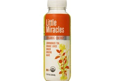 Organic Lemongrass Energy Drink by Little Miracles