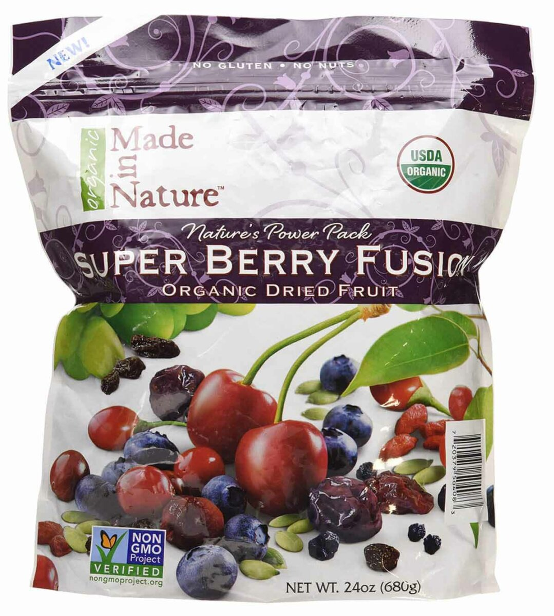 Dried Organic Super Berry Blend