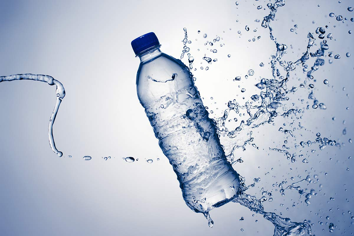 A boxer's diet - water1
