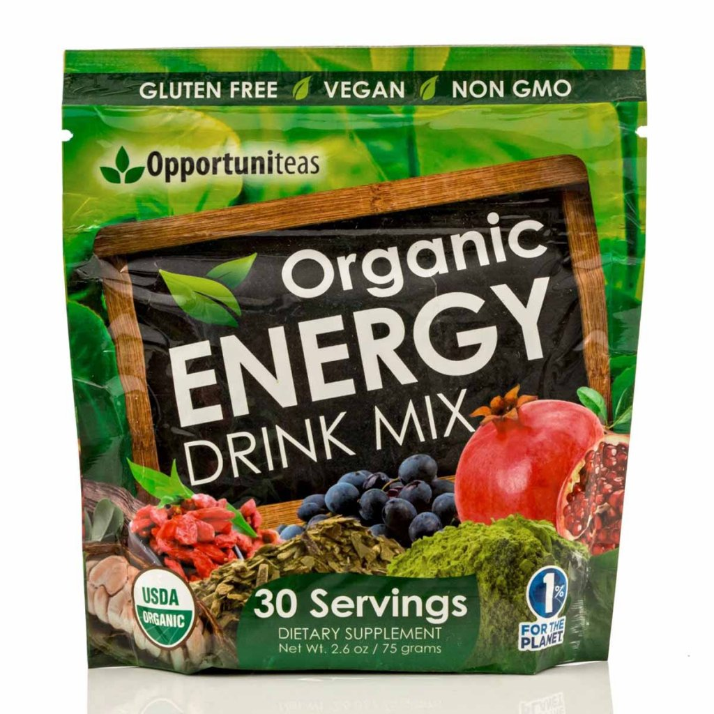 Organic Energy Drink Blend by Opportuniteas