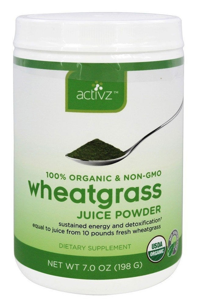 Organic Wheatgrass Juice Powder by Activz