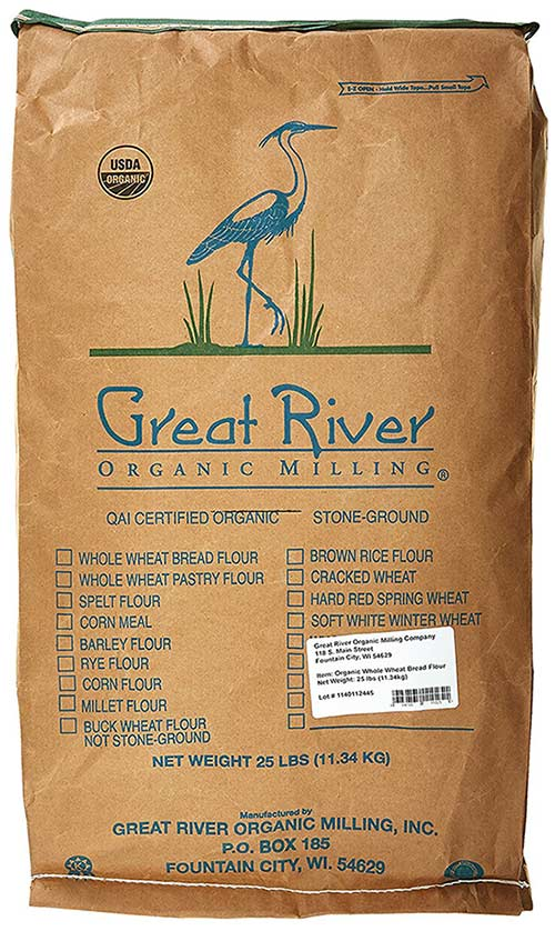 Organic Whole Wheat Flour by Great River Organic Milling