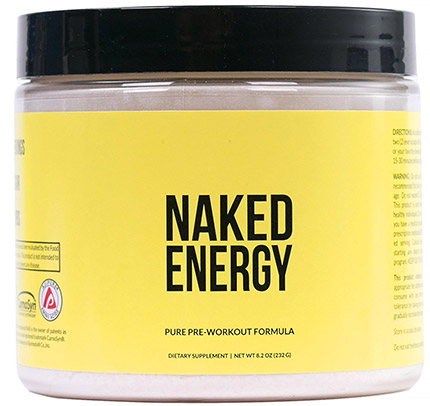 all natural pre workout Naked Energy