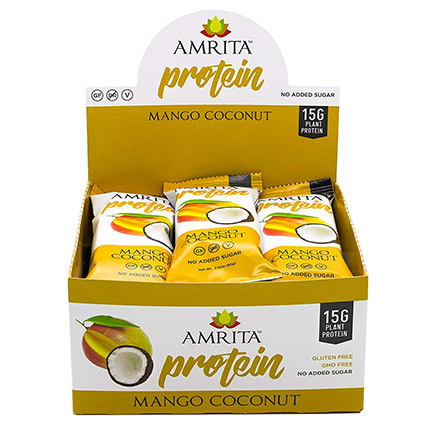 Amrita Health Foods – Non-GMO High Energy Protein Bar