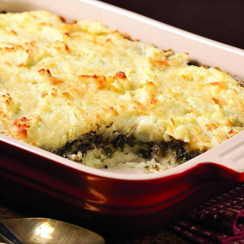 layered-mashed-potato-mushroom-casserole