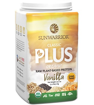 Raw Organic Plant Based Protein – Classic Plus by Sunwarrior