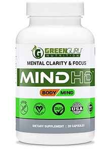All Natural Mind HD Nootropic by Green Guru Nutrition