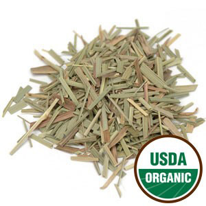 Dried Organic Lemongrass Leaves