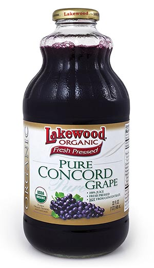 Organic Concord Grape Juice by Lakewood