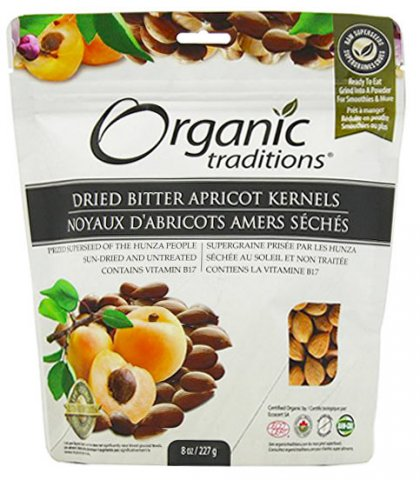 Organic Bitter Apricot Kernels by Organic Traditions