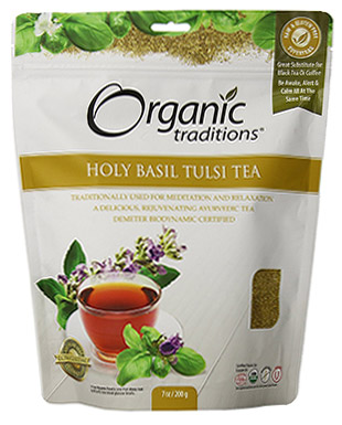 Organic Holy Basil Tea by Organic Traditions