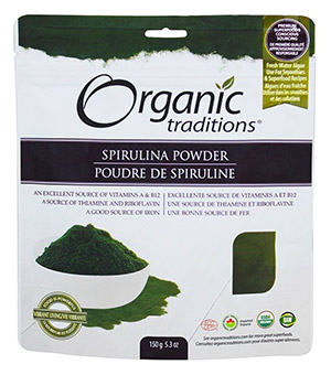Organic Spirulina Powder by Organic Traditions