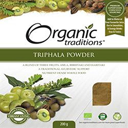 Organic Triphala Powder by Organic Traditions