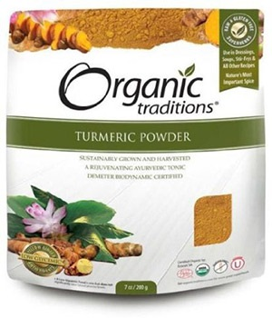 Organic Turmeric Powder by Organic Traditions