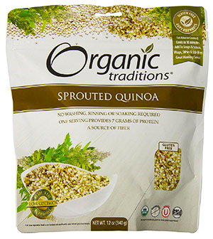 Sprouted Organic Royal Quinoa by Organic Traditions
