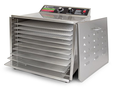 TSM Products D-10 Stainless Steel Dehydrator