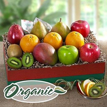 Organic Fruit Collection Gift Box