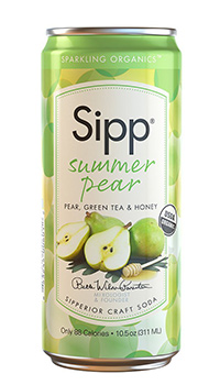 Organic Summer Pear Soda