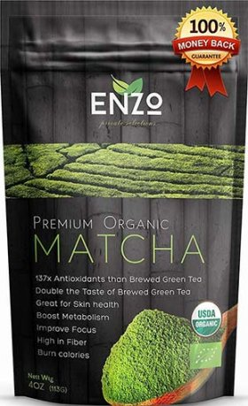Organic Ceremonial and Classic Blend Matcha