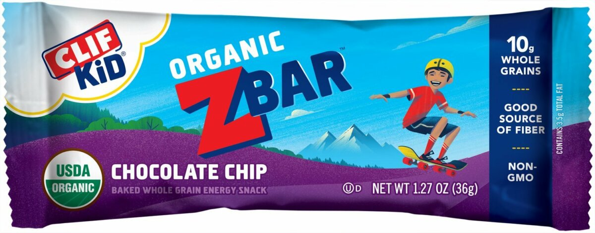 Organic Chocolate Chip ZBar by Clif Kid