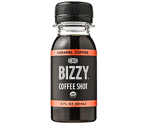 Organic Cold Brew Coffee Shot by Bizzy