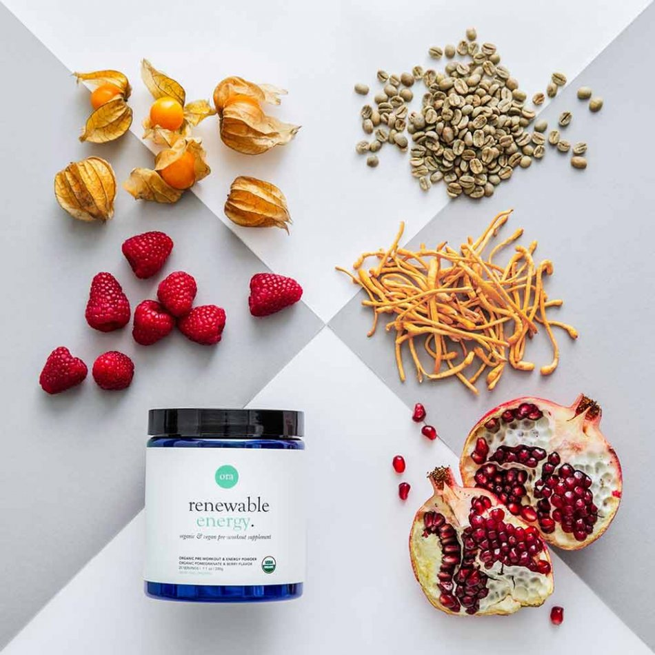 Pre Workout Supplement by Ora Organic