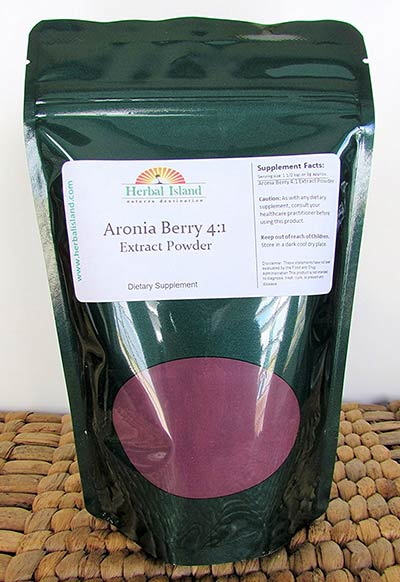 Aronia Berry Extract by Herbal Island