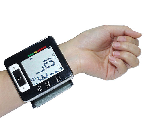 Automatic Wrist Blood Pressure Monitor by AlphaMed