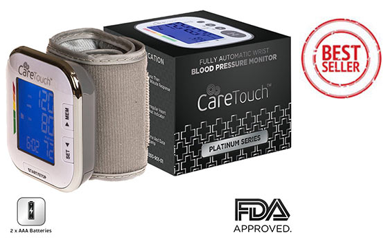 Automatic Wrist Blood Pressure Monitor by Care Touch