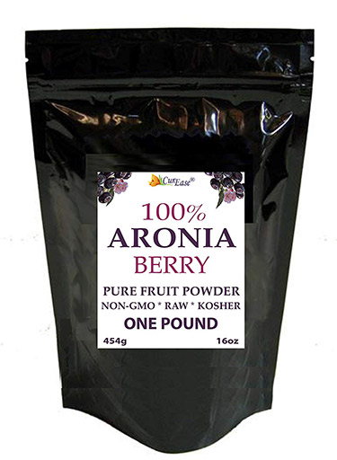 CurEase Non-GMO Aronia Fruit Powder