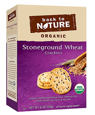 Stone Ground Wheat Crackers by Back to Nature