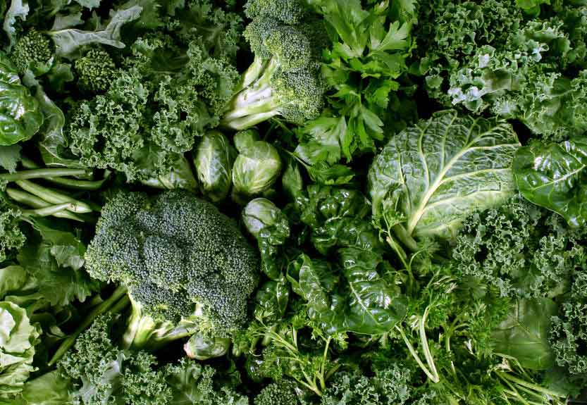 Best Foods For Liver Health - Leafy Green Vegetables