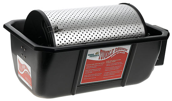 Tumble Drum Automatic Fish Scaler by Open Country