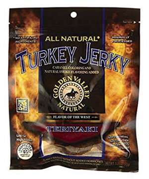 All Natural Turkey Jerky Teriyaki by Golden Valley