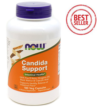 Candida Support Capsules by NOW Foods