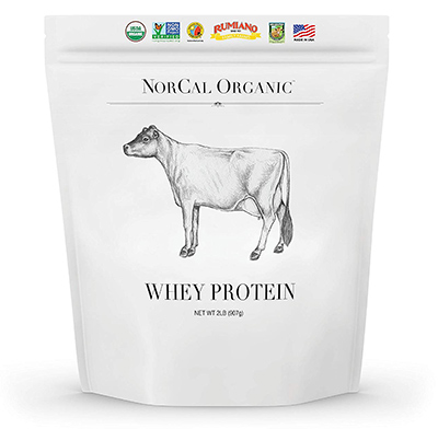Organic Cold-Pressed Whey Protein by NorCal Organic