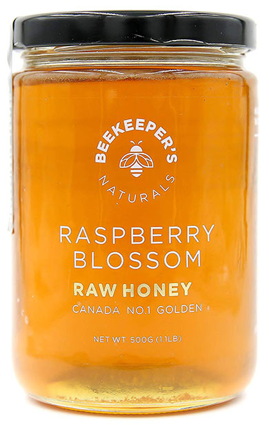 Beekeeper's Naturals Raw Pristine Raspberry Honey