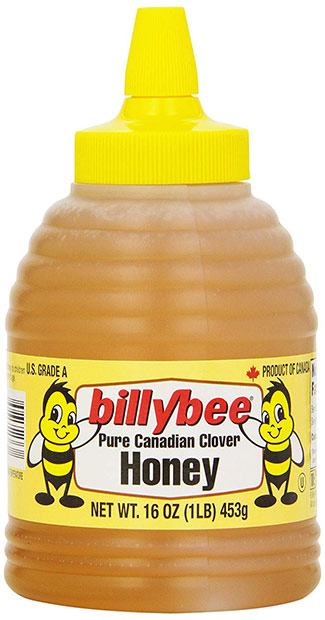 Billy Bee Pristine Canadian Clover Honey