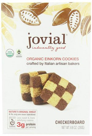 Checkerboard Organic Einkorn Cookies by Jovial