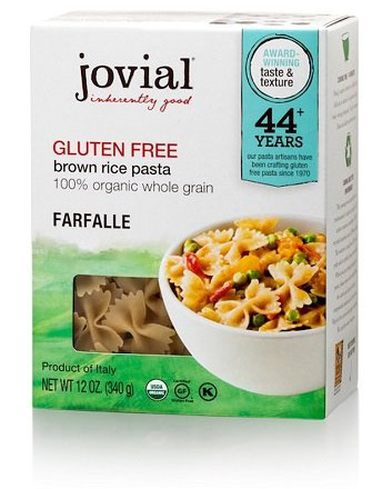 Organic Brown Rice Pasta by Jovial Foods