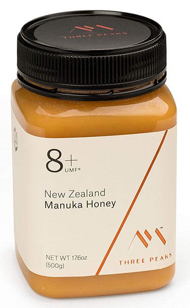 Three Peaks Manuka Honey UMF 8 Plus Certified